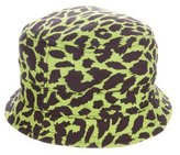 Jeremy Scott Cheetah Print Bucket Hat