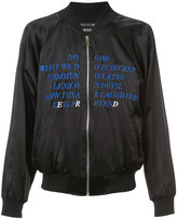 Enfants Riches Deprimes Germs bomber jacket - men - Silk/Acrylic - L