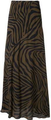 LAYEUR zebra print skirt