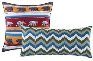 Greenland Home Fashions Black Bear Lodge 2 Piece Pillow Set Home Fashions