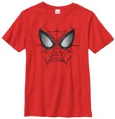 Fifth Sun Red Spider-Man Web Face Tee - Boys