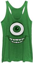 Fifth Sun Green Monsters Inc. Mike Face Tank - Juniors
