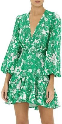 Alexis Neala Floral Flounce Dress