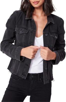 Paige Rowan Side Zip Denim Jacket