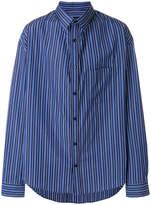 Balenciaga Bal Profile Collar Shirt