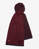 Ted Baker Square jacquard scarf
