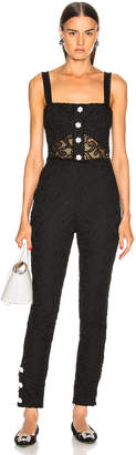 Alexis Govada Jumpsuit in Black | FWRD