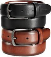 Perry Ellis Portfolio Men's Leather Park Avenue Big and Tall Belt