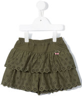 Familiar broderie anglaise shorts