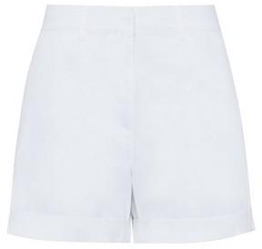 Dorothy Perkins Womens White Chino Shorts, White