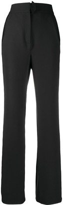 BEVZA High-Rise Tailored Trousers