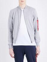Alpha Industries MA-1 cotton-blend sweatshirt