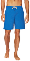Solid & Striped Banded Waist Board Shorts