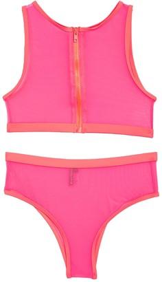 KENDALL + KYLIE Mesh 2-Piece Bikini Set