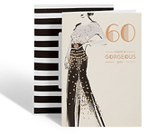 Marks and Spencer Age 60 Gorgeous Lady Birthday Card