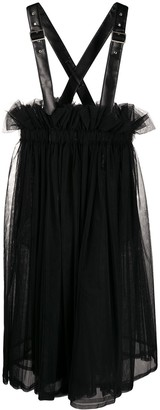 Comme des Garcons Pinafore Flared Dress