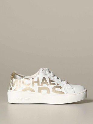 MICHAEL Michael Kors Sneakers In Leather With Logo