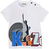 Kenzo Pop-Art-Logo Cotton Jersey T-Shirt