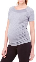Ingrid & Isabel Active Ruched Maternity Top