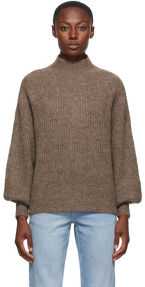Won Hundred Brown Alpaca and Wool Blakely Sweater