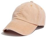 Madewell Biltmore® garment-washed baseball hat
