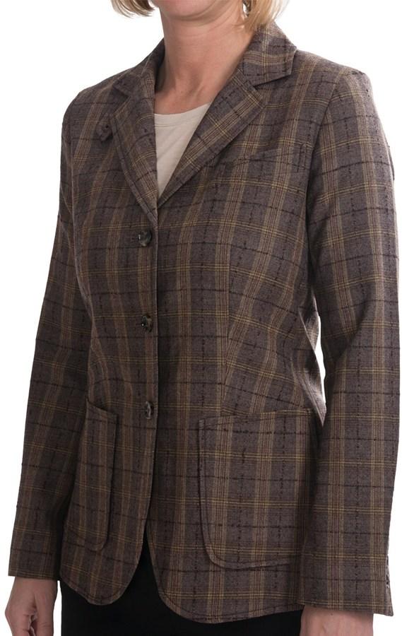 Pendleton Virgin Wool Jacket - Elbow Patches (For Women)