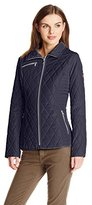 Jessica Simpson Women's Mixed-Quilt Jacket