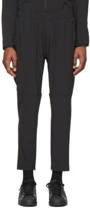 adidas Black Aero 3-Stripes Track Pants