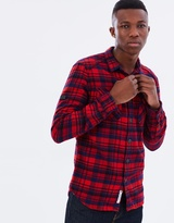 Superdry Milled Flannel Long Sleeve Shirt