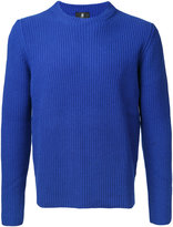 Kent & Curwen ribbed knit jumper - men - Cashmere/Wool - M