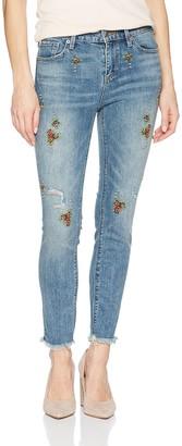 Lucky Brand Women's MID Rise AVA Crop Jean in Oakwood 29