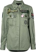 Marc Jacobs military patch shirt - women - Cotton - 6