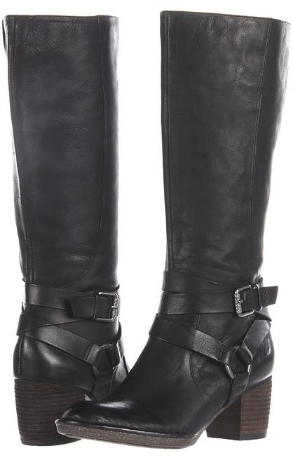 Naya Gazelle (Black Leather) - Footwear