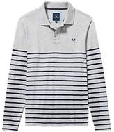 Crew Clothing Men's Crew Rugby Long Sleeve Polo Shirt