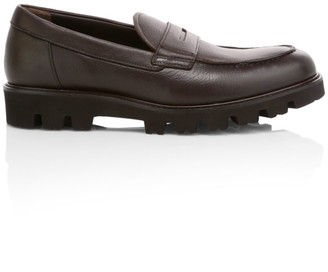 Vince Comrade Leather Penny Loafers