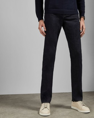 Ted Baker Tall Straight Fit Denim Jeans