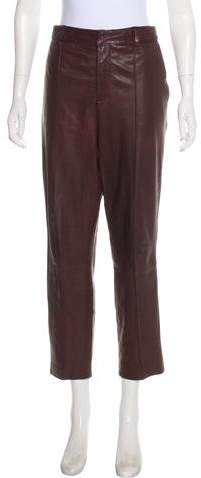 fced907584ea6e Vince Leather Pants - ShopStyle