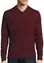 USPA U.S. Polo Assn. Long-Sleeve V-Neck Sweater
