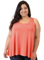 Stretch is Comfort Women's Plus Size Modal Ava Tunic Tank