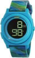Nixon Women's Time Teller A4171610 Silicone Analog Quartz Watch