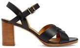 A.P.C. Opéra block-heel leather sandals