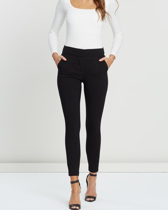 Forcast Emily High-Waisted Skinny Pants