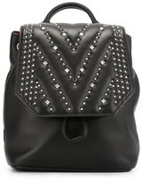 MCM 'Diamond Disco' backpack - women - Leather/Metal (Other)/glass - One Size