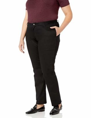 Lee Women's Plus Size Original Straight Leg Pant