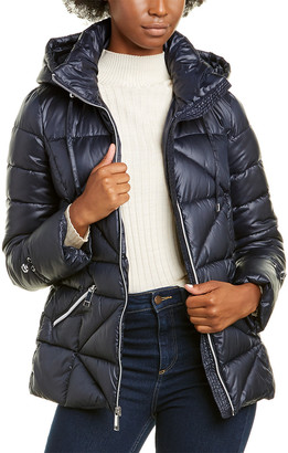 Nine West Short Hooded Coat