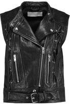 IRO Textured-Leather Gilet