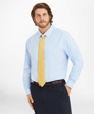 Brooks Brothers Big & Tall Dress Shirt, Non-Iron Spread Collar