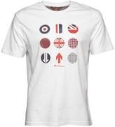 Ben Sherman Symbol Prints T-Shirt White