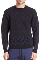Public School Quilted Knit Pullover