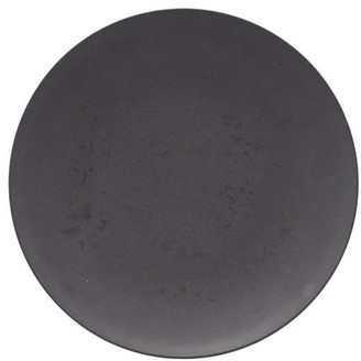 House Doctor - Dark Grey Set Of 4 Pcs Picnic Plate - picnic dinner plate / DARK GREY - Grey